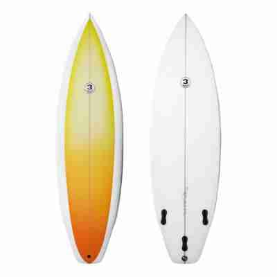 Heritage Series Thruster - Single Flyer Round Square Tail