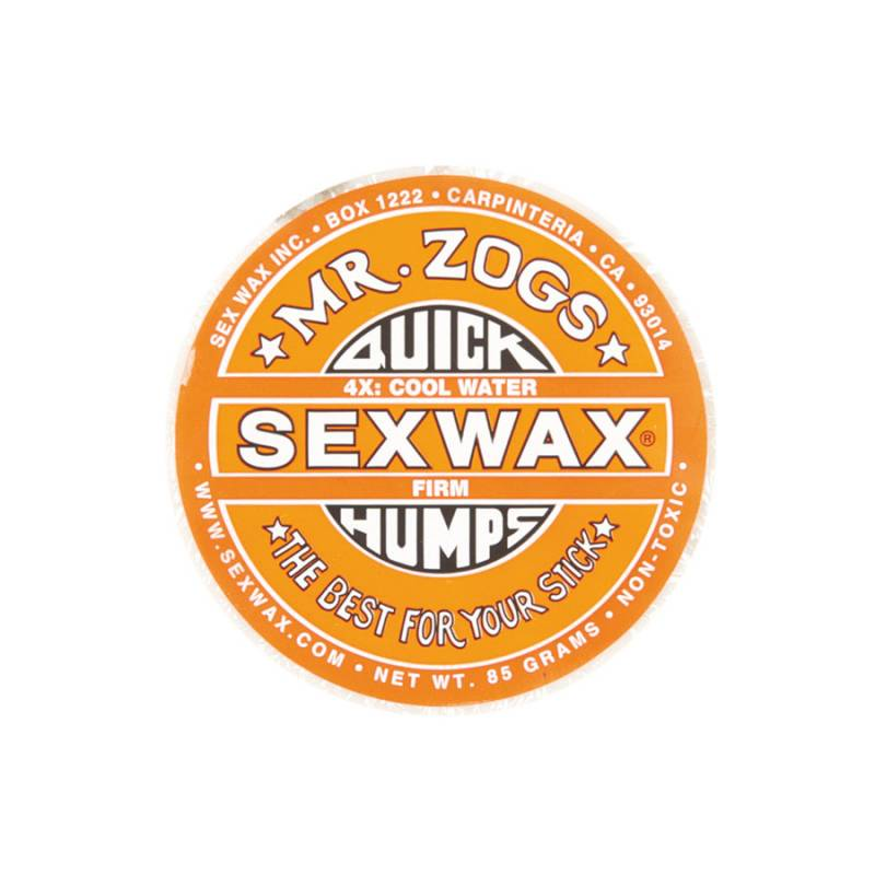 Mr Zogs Quick Humps Sex Wax orange mid cool temperature
