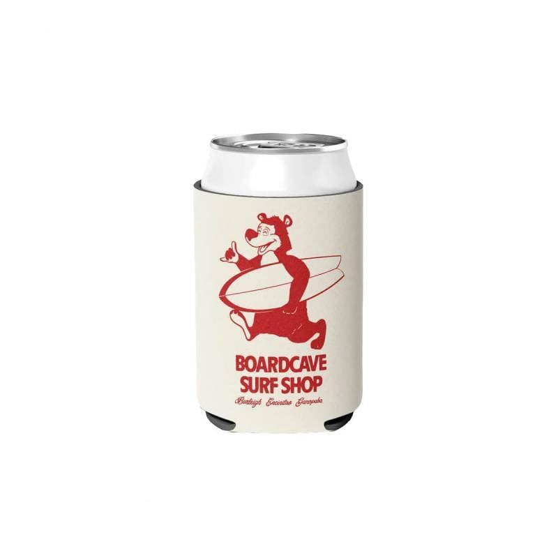 Boardcave Mascot Bear Stubby Cooler