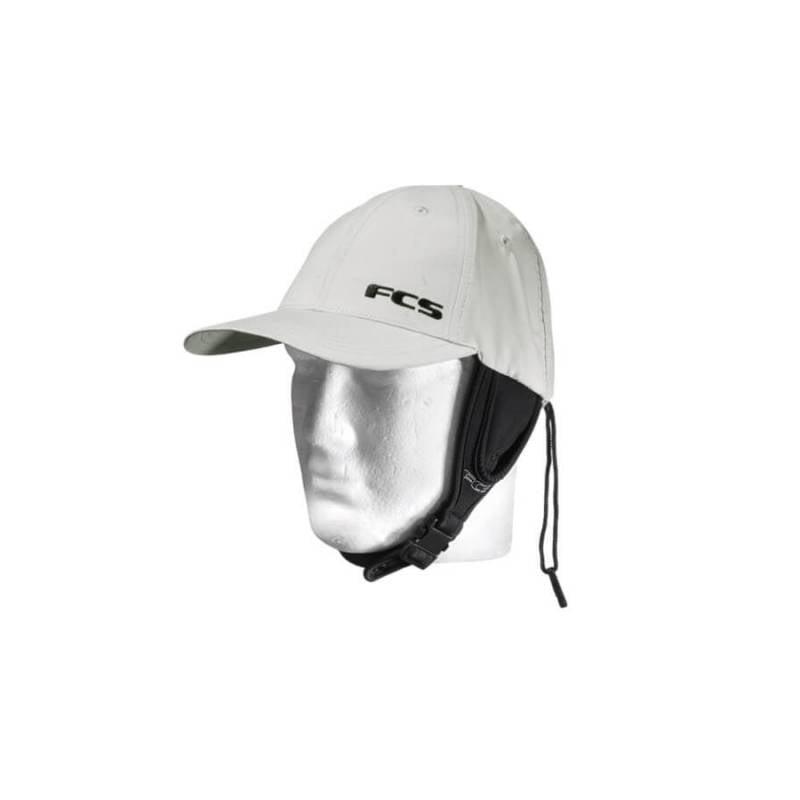 FCS Wet Baseball Surf Cap - grey