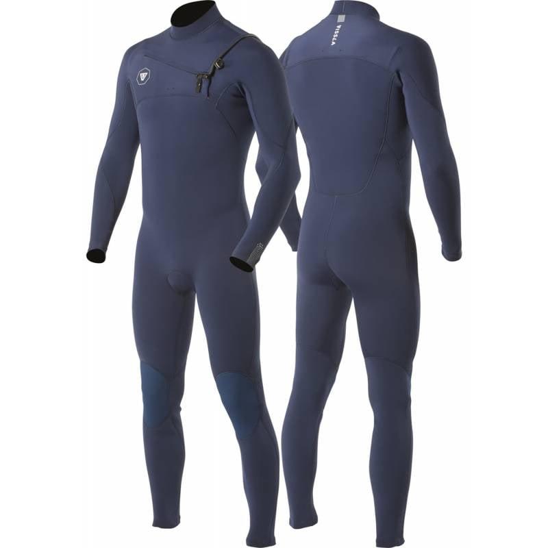 Vissla 7 Seas 3/2 Chest Zip Full Steamer Men's Wetsuit - Navy