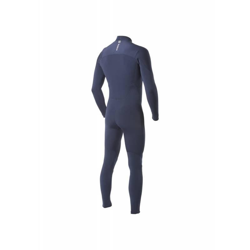Vissla 7 Seas 3/2 Chest Zip Full Steamer Men's Wetsuit - Navy - back