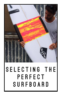 jr surfboards selecting