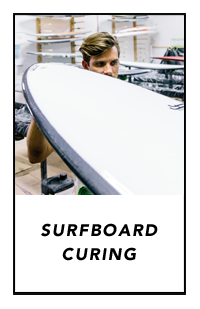 surfboard curing